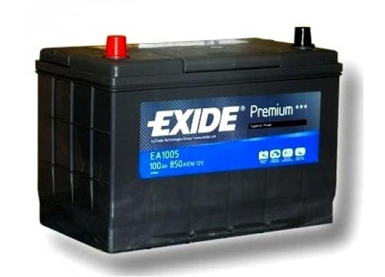 Μπαταρία αυτοκινήτου Exide Premium EA1005 - 12V 100 Ah - 850CCA A(EN) εκκίνησης