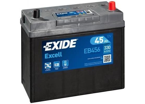 Μπαταρία αυτοκινήτου Exide Excell EB456 - 12V 45Ah - 300 CCA A(EN) εκκίνησης