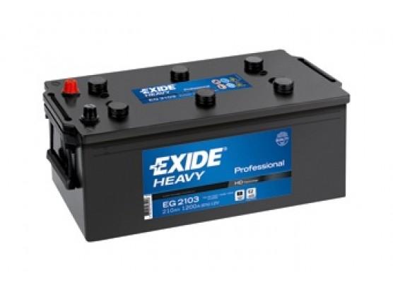 Μπαταρία Exide Professional EG2103 - 12V 210Ah - 1200CCA A(EN) εκκίνησης