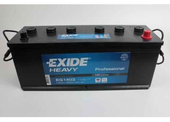 Μπαταρία Exide Professional EG1402 - 12V 140Ah - 900CCA A(EN) εκκίνησης