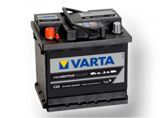 Μπαταρία Varta Promotive Black C20 - 12V 55 Ah - 420CCA A(EN) εκκίνησης