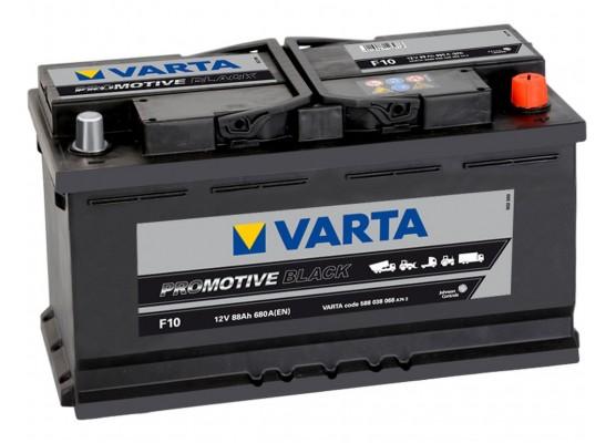 Μπαταρία Varta Promotive Black F10- 12V 88 Ah - 680CCA A(EN) εκκίνησης