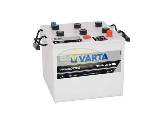 Μπαταρία Varta Promotive Black J3 - 12V 125 Ah