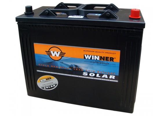Μπαταρία βαθιάς εκφόρτισης Winner Solar W125 - 12V 125Ah (C20)