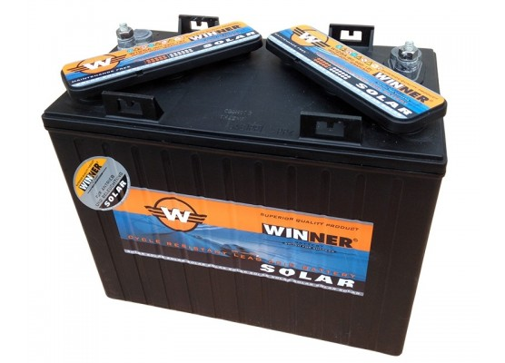 Μπαταρία βαθιάς εκφόρτισης Winner Solar W125A - 12V 150Ah (C20)