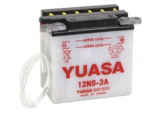 Μπαταρία μοτοσυκλετών YUASA Conventional 12N9-3A - 12V 9 (10HR) - 85 CCA (EN) εκκίνησης