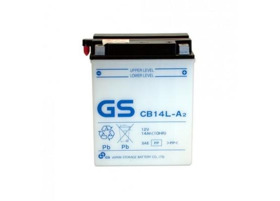 Μπαταρία μοτοσυκλετών ανοιχτού τύπου GS CB14L-A2 - 12V 14 (10HR)