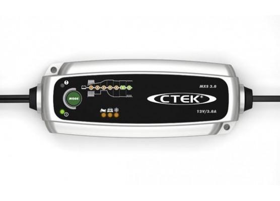 Φορτιστής - Συντηρητής CTEK MXS 3.8 (12V - 3.8A - 10W)