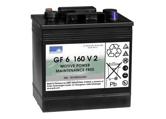 Μπαταρία Sonnenschein GF 06 160 V 2 - GEL τεχνολογίας - 6V 196Ah