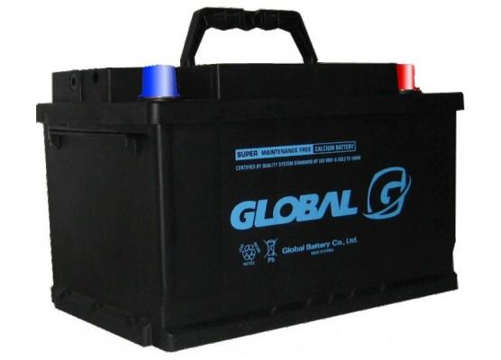 Μπαταρία αυτοκινήτου ευρωπαϊκού τύπου GLOBAL SMF 58014 - 12V 80Ah - 730CCA(SAE) εκκίνησης