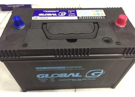 Μπαταρία φορτηγού GLOBAL SMF 1000LA - 12V 100Ah - 1000CA εκκίνησης