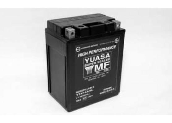 Μπαταρία μοτοσυκλετών YUASA High Performance Maintenance Free YTX14AHL - BS -12V 12 (10HR)Ah - 210 CCA(EN) εκκίνησης