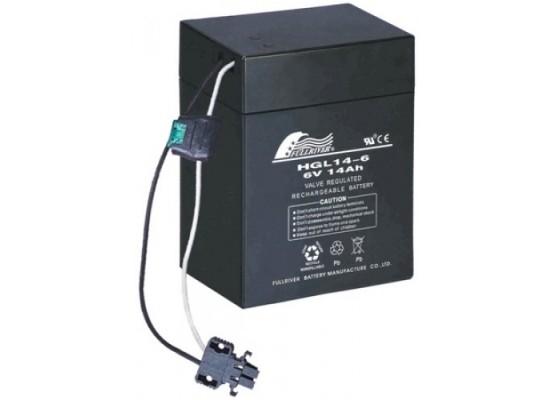 Μπαταρία FULLRIVER HGL 14-6TH VRLA - AGM τεχνολογίας - 6V 14Ah