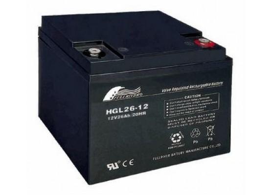 Μπαταρία FULLRIVER HGL 26-12 VRLA - AGM τεχνολογίας - 12V 26Ah
