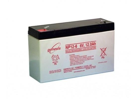 Μπαταρία GENESIS NP12-6 VRLA - AGM τεχνολογίας - 6V 12Ah