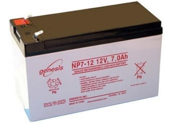 Μπαταρία GENESIS NP7-12 VRLA - AGM τεχνολογίας - 12V 7Ah