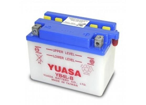 Μπαταρία μοτοσυκλετών YUASA Yumicron INDO YB4L-B - 12V 4 (10HR) - 56 CCA (EN) εκκίνησης (με υγρά)
