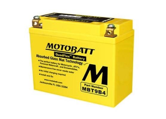 Μπαταρία μοτοσυκλετών MOTOBATT MBT9B4 - 12V 9 (10HR)Ah - 140CCA εκκίνησης