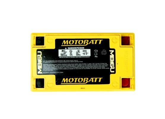 Μπαταρία μοτοσυκλετών MOTOBATT MB16U - 12V 20 (10HR)Ah - 240CCA εκκίνησης