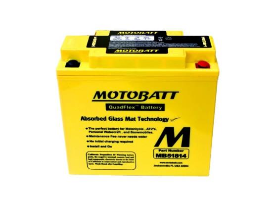 Μπαταρία μοτοσυκλετών MOTOBATT MB51814 - 12V 22 (10HR)Ah - 260CCA εκκίνησης