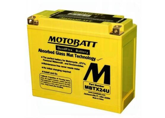 Μπαταρία μοτοσυκλετών MOTOBATT MBTX24U - 12V 25 (10HR)Ah - 300CCA εκκίνησης