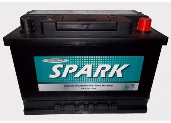 Μπαταρία αυτοκινήτου ευρωπαϊκού τύπου Spark MF60038 - 12V 100Ah - 800CCA(EN) εκκίνησης