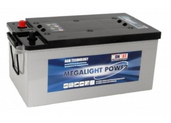Μπαταρία Monbat Megalight Power ML220C Deep Cycle AGM - 12V 220Ah(C100)