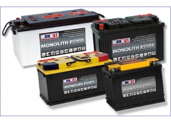 Μπαταρία Monbat Monolithe MP80 Dual Purpose - semi - traction - 12V 80Ah