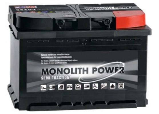 Μπαταρία Monbat Monolithe MP180 Dual Purpose - semi - traction - 12V 180Ah