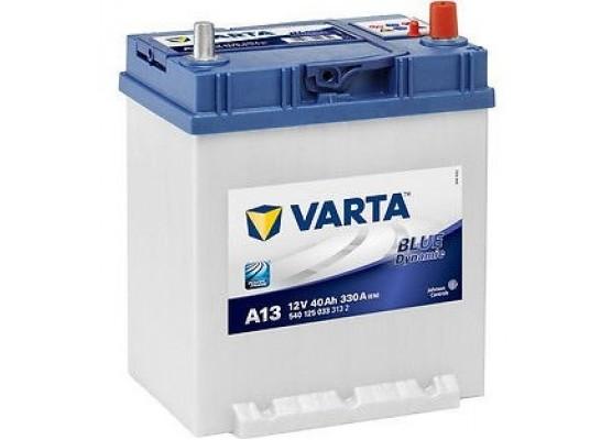 Μπαταρία αυτοκινήτου Varta Blue A13 - 12V 40 Ah - 330CCA A(EN) εκκίνησης