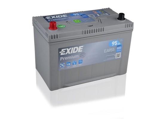 Μπαταρία αυτοκινήτου Exide Premium EA955 - 12V 95 Ah - 800CCA A(EN) εκκίνησης