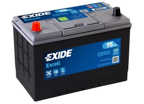 Μπαταρία αυτοκινήτου Exide Excell EB955 - 12V 95Ah - 720 CCA εκκίνησης