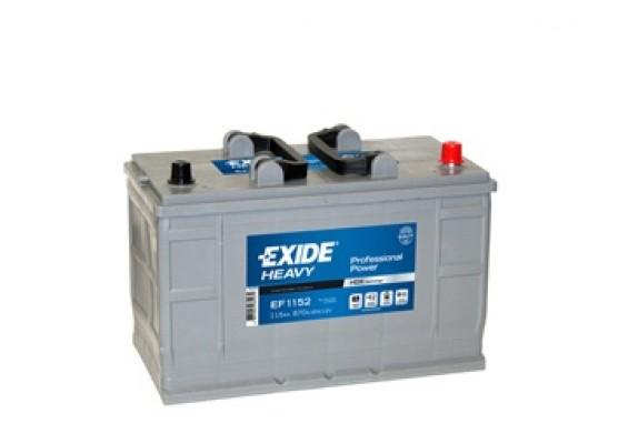 Μπαταρία Exide Professional Power EF1202 - 12V 120Ah - 870CCA A(EN) εκκίνησης