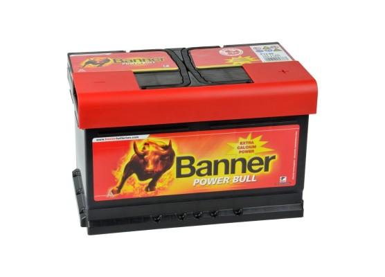 Μπαταρία κλειστού τύπου Banner Power Bull P7209 12V 72Ah (C20) - 670CCA εκκίνησης