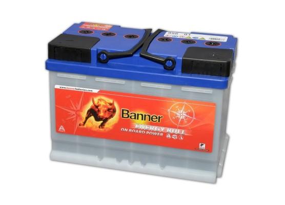 Μπαταρία Solar τεχνολογίας Banner Energy Bull 95601 12V 80Ah (C20)