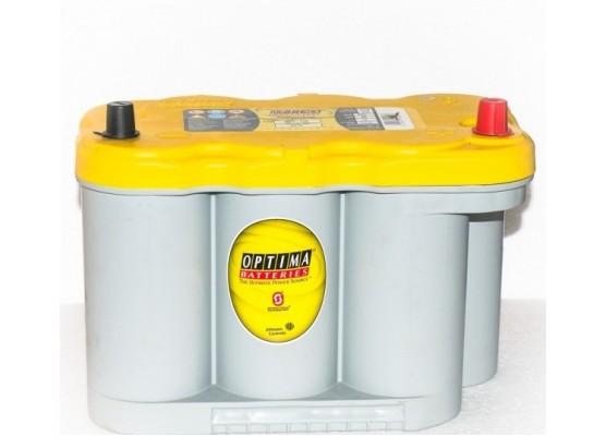 Μπαταρία εκκίνησης και εκφόρτισης Optima yellow top YTR 5.0 12V 66Ah - 845 CCA A(EN) εκκίνησης