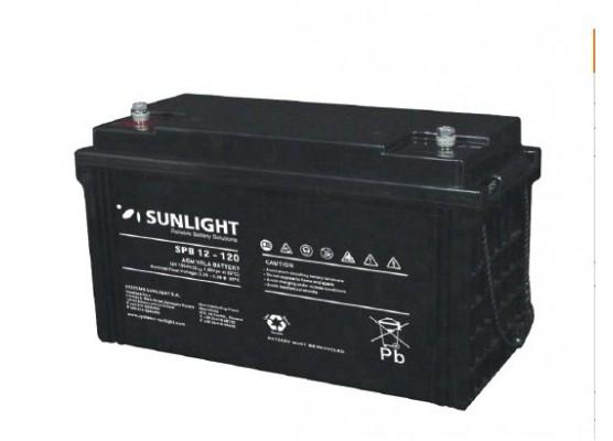 Μπαταρία Sunlight SPB12-120 VRLA - AGM τεχνολογίας - 12V 120Ah (C10)