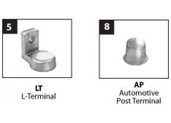 Μπαταρία Trojan Deep - Cycle AGM βαθιάς εκφόρτισης T105 AGM - 6V 217Ah(C20)