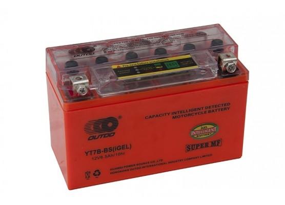 Μπαταρία μοτοσυκλετών OUTDO YT7B-BS IGEL - 12V 7 Ah - 120 CCA(EN) εκκίνησης