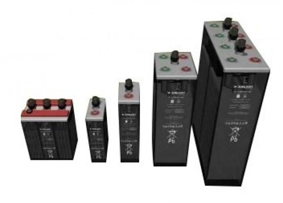 Μπαταρία φωτοβολταϊκών υγρού τύπου Sunlight 1 RES OPzS 85 - 12V 65Ah(C12)