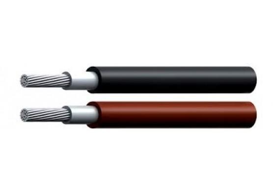 ΚΑΛΩΔΙΟ SOLAR 1X10mm κόκκινο-μαύρο / μέτρο