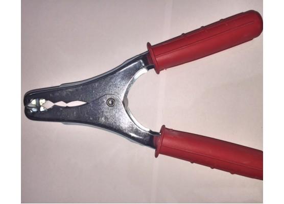 Δαγκάνα λαμαρίνας 200Α (κόκκινο)