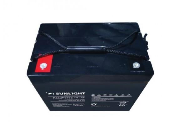 Μπαταρία Sunlight Accuforce12-75 VRLA - AGM τεχνολογίας 12V - 75Ah (C10)