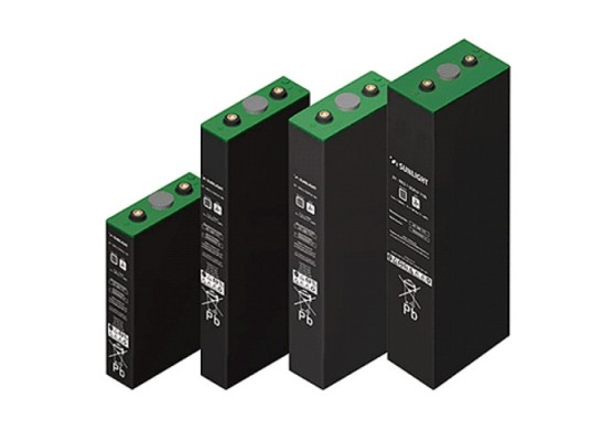 Μπαταρία βαθιάς εκφόρτισης κλειστού τύπου GEL Sunlight RES 8 SOPzV 1360 - 2V 1170Ah(C12)