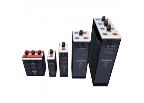 Μπαταρία βαθιάς εκφόρτισης ανοιχτού τύπου με υγρά Sunlight 5 OPzS 250 - 6V Ah177(C10)
