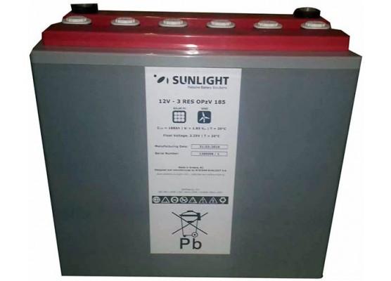 Μπαταρία βαθιάς εκφόρτισης κλειστού τύπου GEL Sunlight 1 RES OPzV 65 - 12V 52Ah(C12)