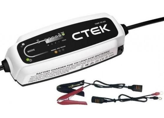 Φορτιστής - Συντηρητής CTEK CT5 TIME TO GO (12V - 5A)