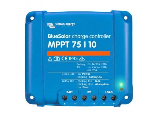 Ρυθμιστής φόρτισης φωτοβολταϊκών Victron BlueSolar MPPT 75/10