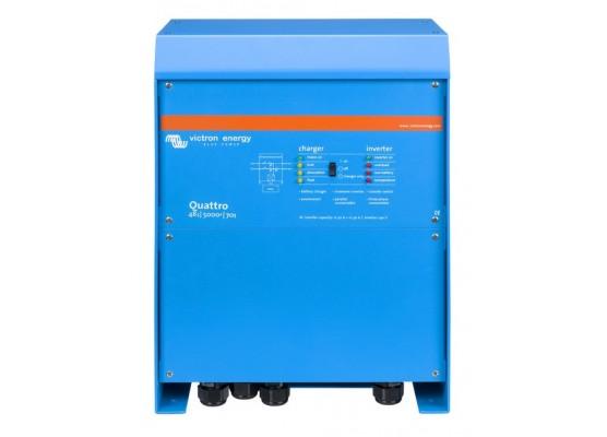 Μετατροπέας - inverter με φορτιστή DC-AC καθαρού ημιτόνου Victron Quattro 48/5000/70-100/100