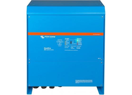 Μετατροπέας - inverter με φορτιστή DC-AC καθαρού ημιτόνου Victron Quattro 48/15000/200-100/100